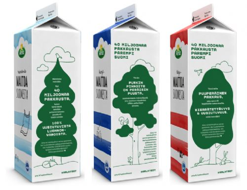 Arla to introduce wood-based bioplastic paperboard cartons